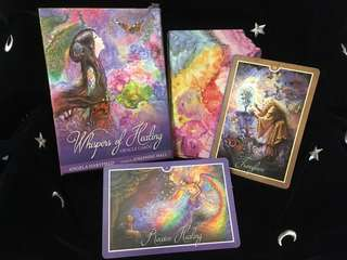 Whispers of Healing Oracle Cards 塔羅牌 神諭卡