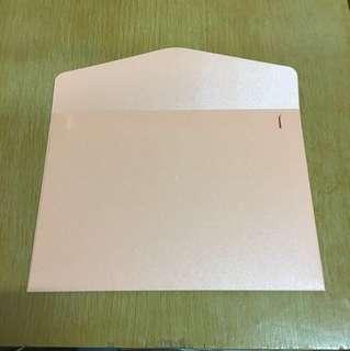 喜帖 請柬 粉紅色信封