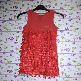 #MakinTebel dress marmaid red