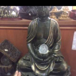 {FS138} 18 INCHES TALL BUDDHA WATER FOUNTAIN 2
