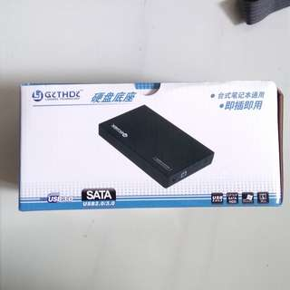 "BNIB 2.5"" / 3.5"" External Hard Disk Enclosure"