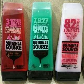 3 for $12🌟Original Source Shower Gel / Foam🌟
