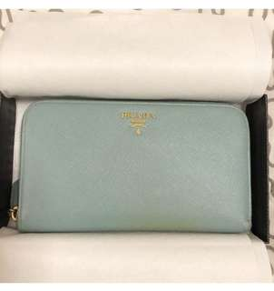 Prada Saffiano Metal Purse