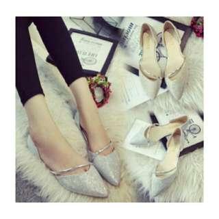 🚚 韓版尖頭平底鞋