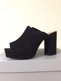 Topshop mules heels