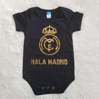 Hala Madrid Baby Romper