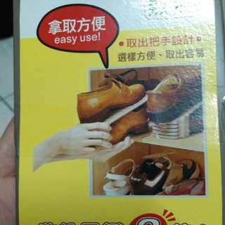 開口笑鞋架。(共4個)臺灣製造。