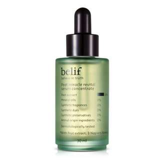 Belif Peat Miracle Revival Serum Concentrate