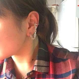 APM Monaco Earrings +cuff