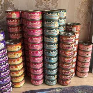 Aatas Canned Cat Food Assortment Cheap sale expiry Dec 2020