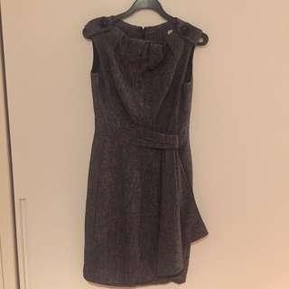 Karen millen grey tweed dress Uk 8