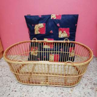 Baby basket bedding