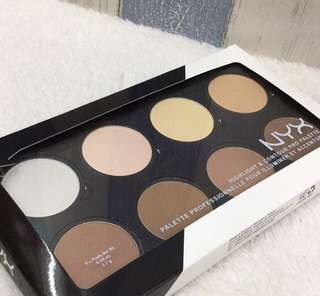 Contour and highlight pallet