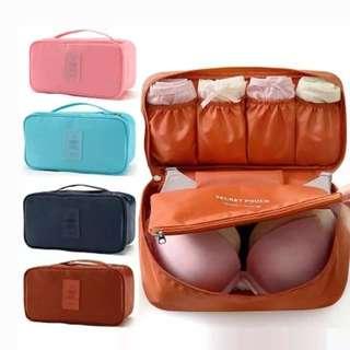 Underwear bra panty travel organizer