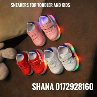 Shoes Sneakers with Lighting for Toddler and Kids