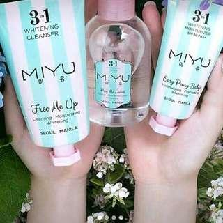MIYU Whitening skin care