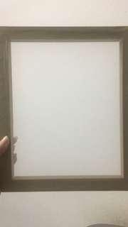 Silkscreen frame 25x30cm