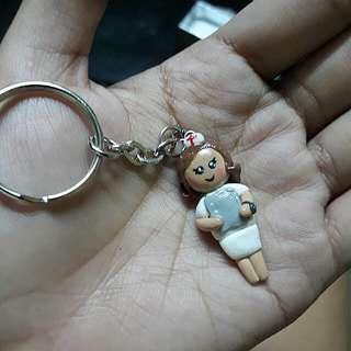 Little nurse keychain