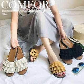 夏季新款時尚百搭外穿沙灘凉拖鞋
