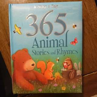 365 Animal Stories and Rhymes (380pages)