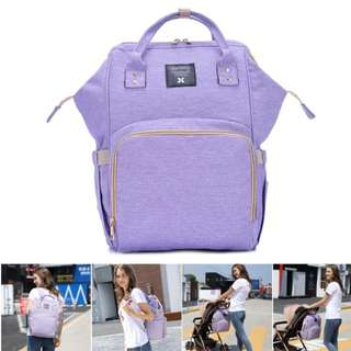 ❤: On-hand: Baby Diaper Bag / Mommy Nursing Bag ( Purple)