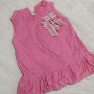 Bubble Gum Pink Dress - 24mos