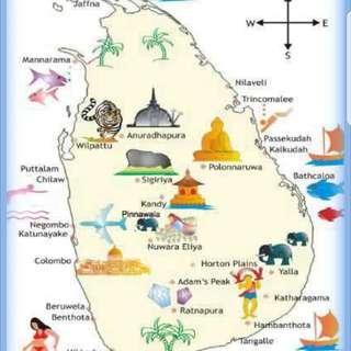 Travel to sri Lanka on a holiday