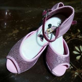 Moving out Sale! Repriced! Minnie Mouse Pink High heels