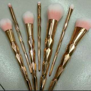 Unicorn Makeup Brush Set 7pcs.