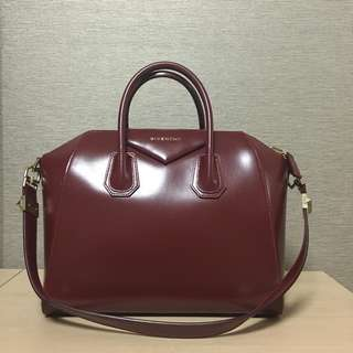 Givenchy Antigona (burgundy)