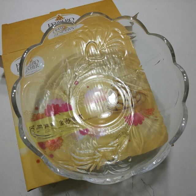 金莎玻璃果盤
