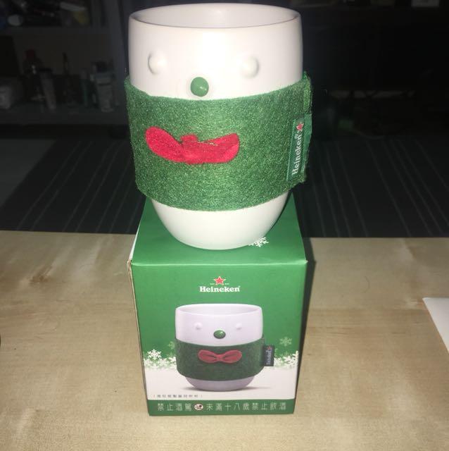 海尼根 聖誕節限定 水杯