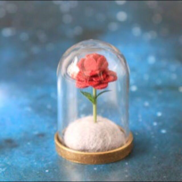 「預購」小王子的玫瑰花 材料包 手作 Diy 羊毛氈