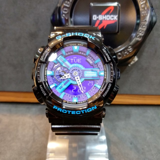 340feb91349f8 FREE DELIVERY   Brand New 100% Authentic Casio GShock Gloss Black ...