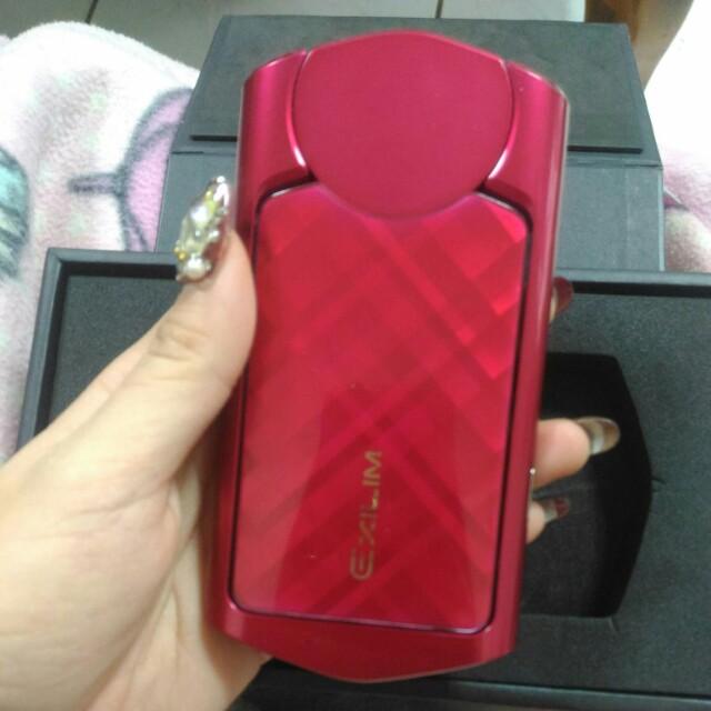 CASIO  TR50(紅)