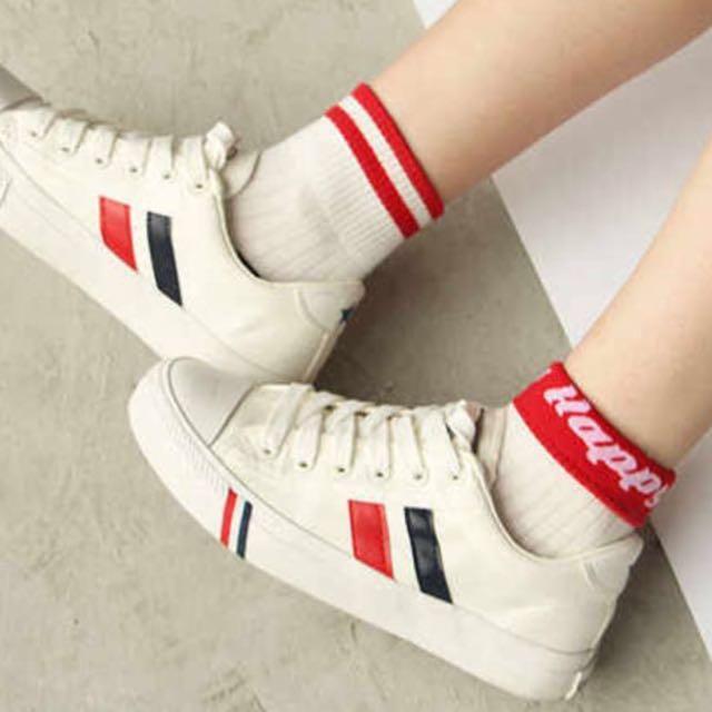 🆕 Vintage Stripe Cotton Socks