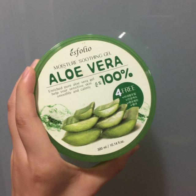 Aloe Vera moisturizer 100%