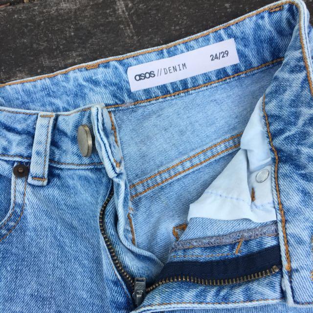 ASOS mum jeans