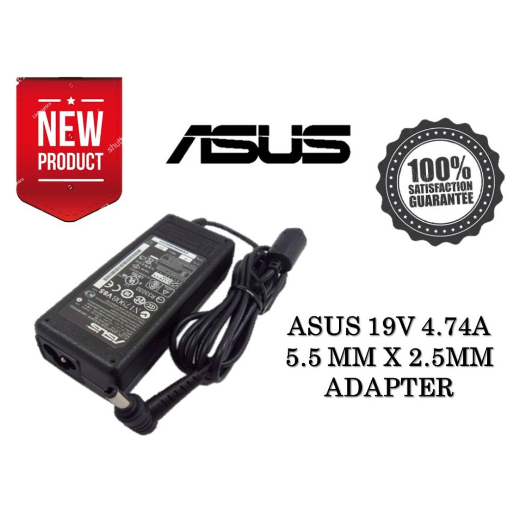 Asus Power Adapter Charger A7gc A7j A7jb N80vm N80vn K52jc K52je Adaptor 19v 342a Ori Photo