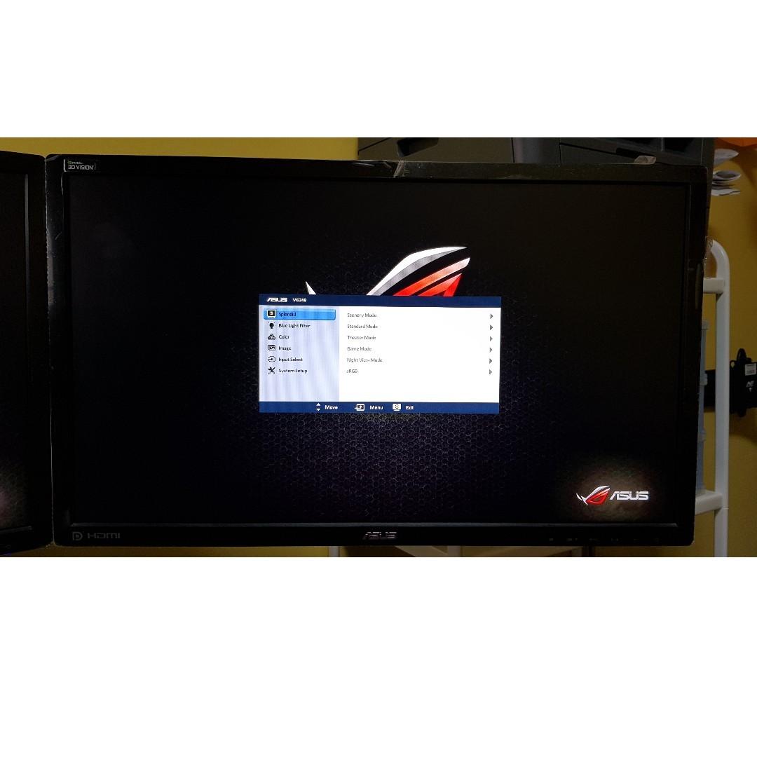 ASUS VG248QE Gaming Monitor -24