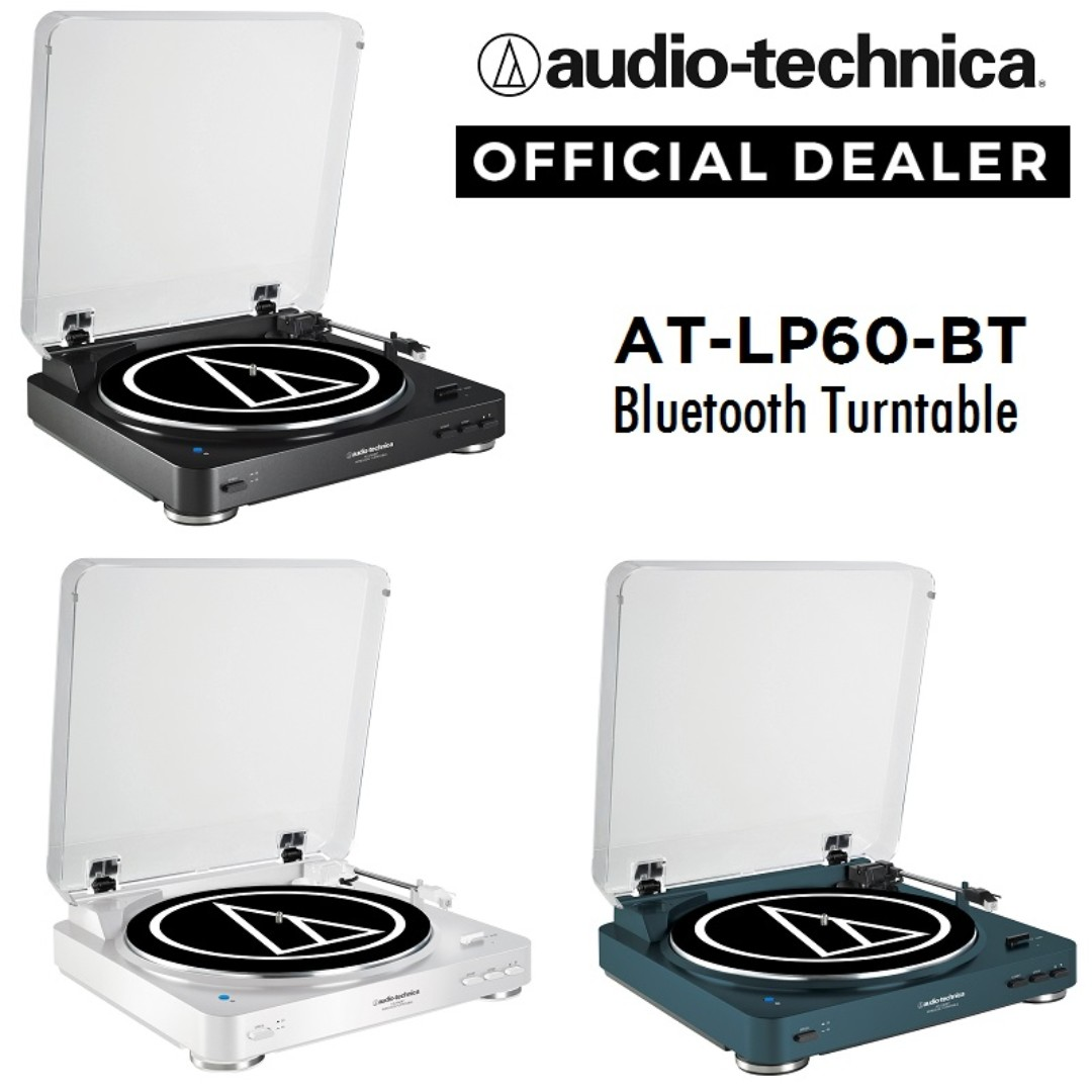 Audio Technica At Lp60 Bt Wireless Bluetooth Belt Drive Stereo Fully Automatic Turntable Electronics On Carousell