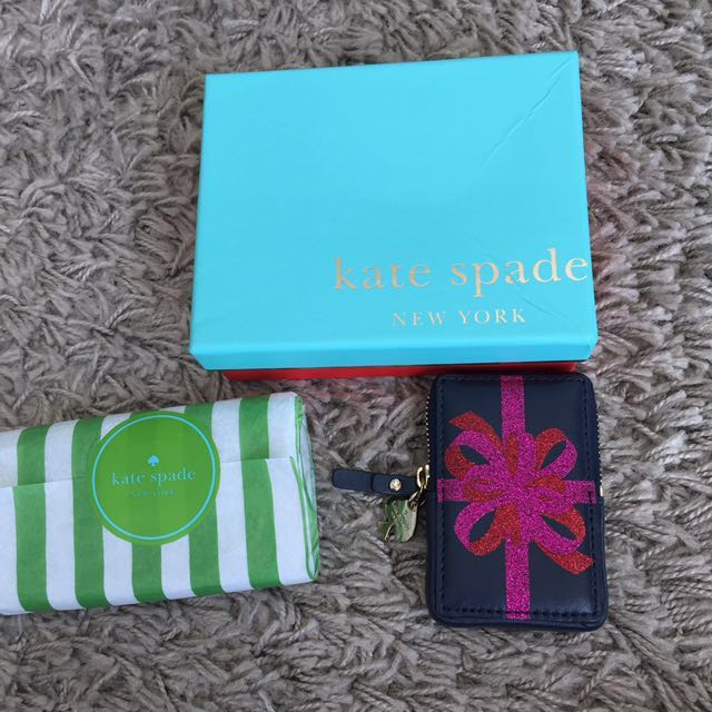 Authentic kate spade Card holder or key pouch