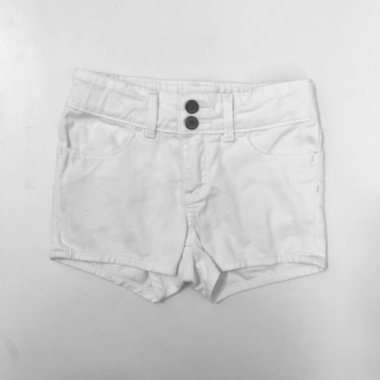 Baby Gap white denim shorts 4Y