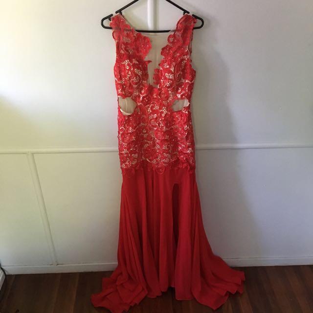 Beautiful Mermaid Tail Formal Dress