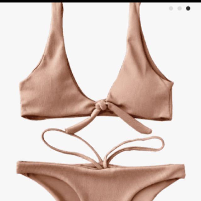 Beige bikini