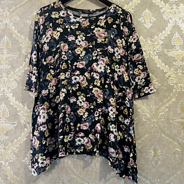 BERSHKA Flower Top