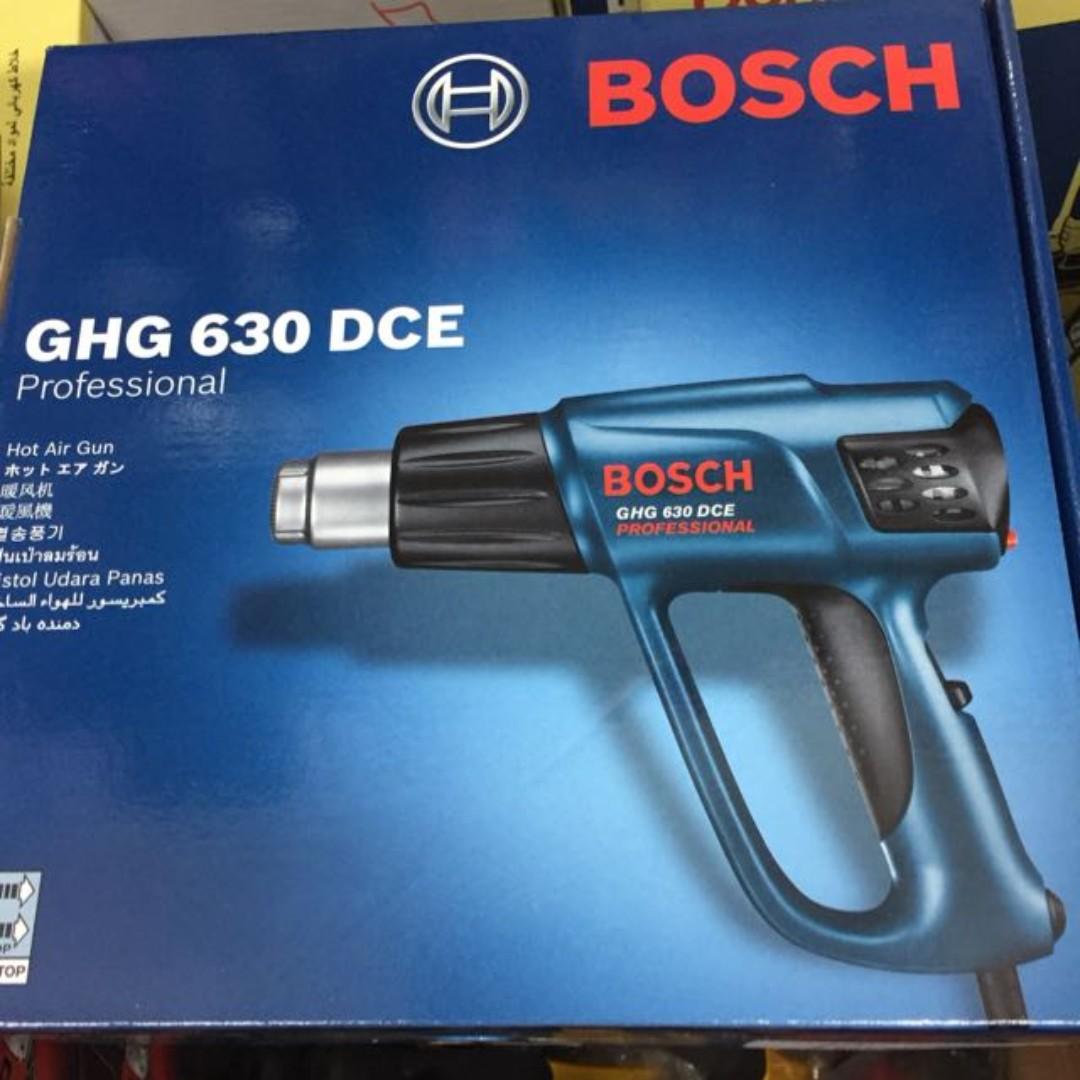 Bosch Ghg 630 Dce Heat Gun Design Craft Supplies Tools Hot Air On Carousell
