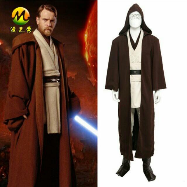 brand new obi wan kenobi halloween costume dnd mens fashion clothes on carousell