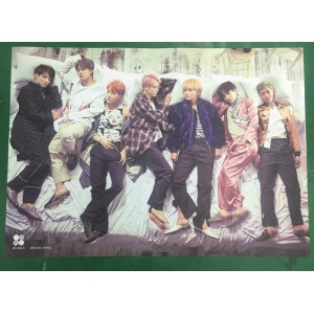 BTS 2ND ALBUM - WINGS OFFICIAL POSTER