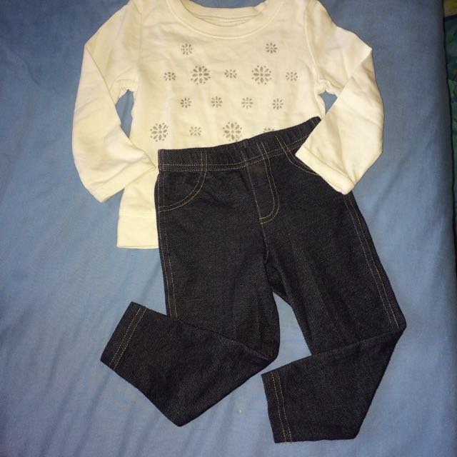 Carter's set (sweater & jegging)